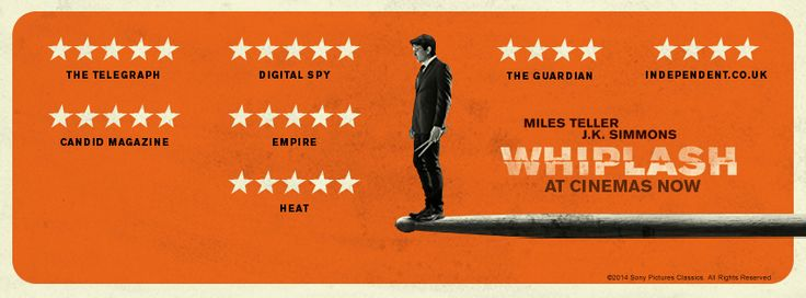 Film review of Whiplash, currently showing in cinemas in Bristol