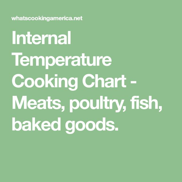 meat cooking temperature chart pdf