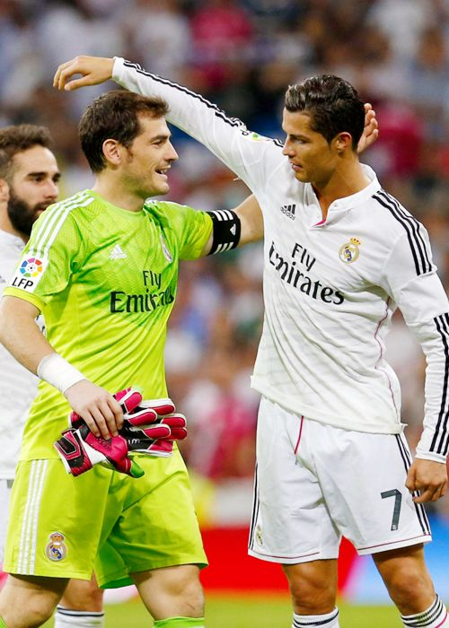 Iker Casillas & Cristiano Ronaldo - Real Madrid FC - Spain