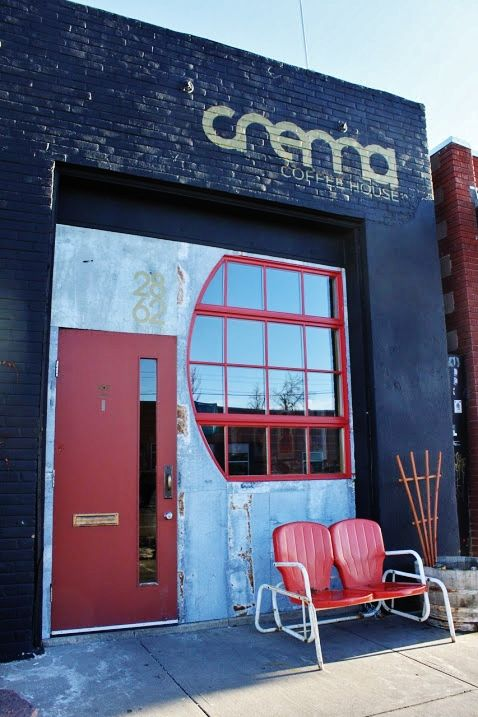 DENVER: Crema Coffee House. The aroma of espresso lives in the crema so swirl it around. Get your nose right down in there. Inhale deeply.  2862 Larimer Street Denver, Colorado 80205