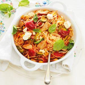 No-fuss meals: Week 1 – Sausage pasta