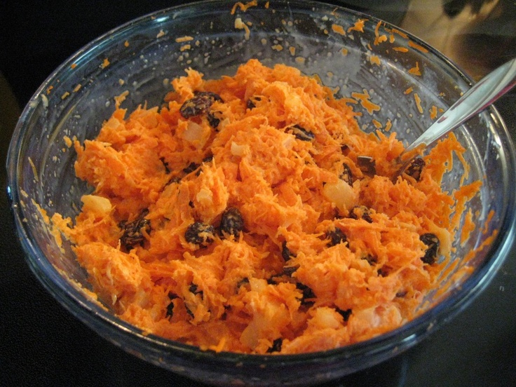 Chick fa la Carrot Raisin Salad...a favorite