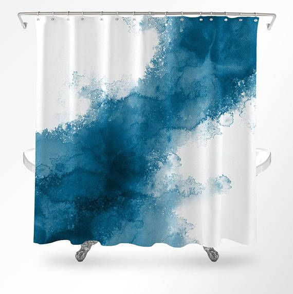 Pin By Metro Shower Curtains Unique On Watercolor Shower Curtains In 2020 Ocean Shower Curtain Modern Shower Curtains Ocean Bathroom Decor