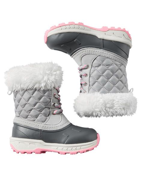 Baby Girl Carter's Snow Boots from Carters.com. Shop clothing & accessories…