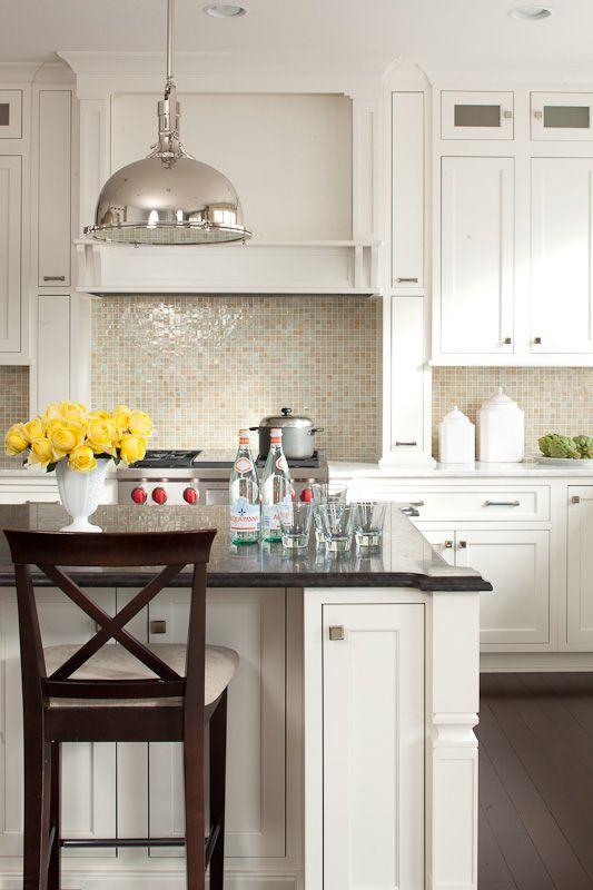 Kitchen Dreams. Warm white. 7 Family Friendly Interiors by Interior Designer: Lauren Liess.