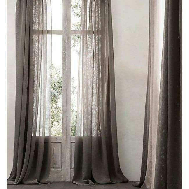 M s de 25 ideas incre bles sobre cortinas de lino en - Cortinas de arpillera ...