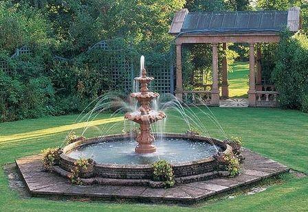 Fuentes de agua y cascadas para jardines fotos de for Fuentes rusticas para jardin