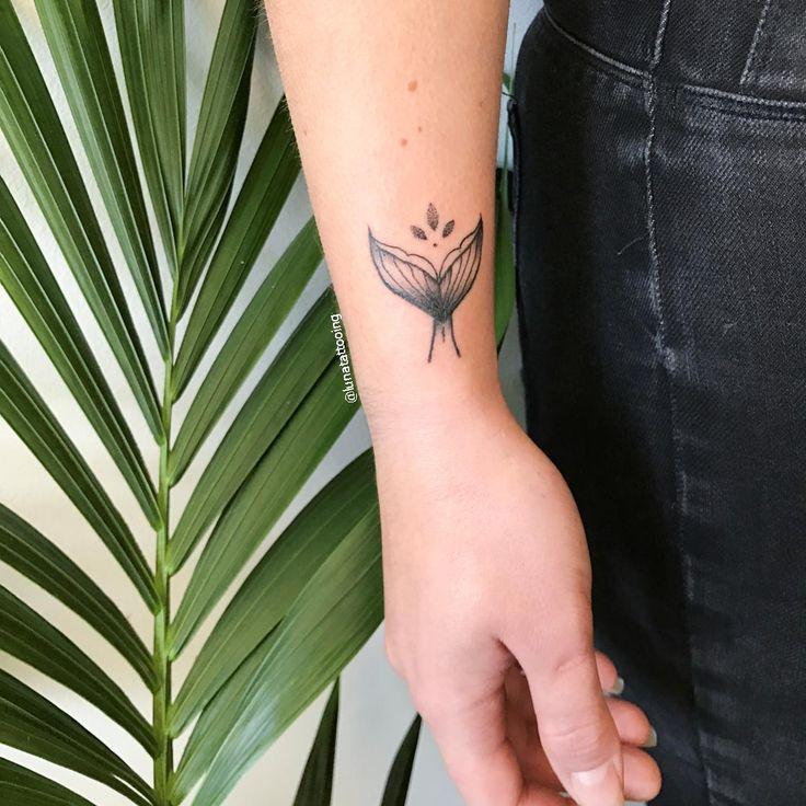Little Mermaid Tail Tattooed this week