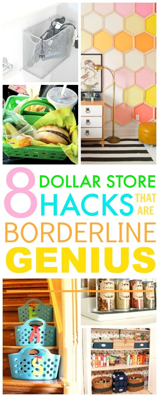You HAVE TO check out these 8 Dollar store hacks! They're SO GOOD! I've already…