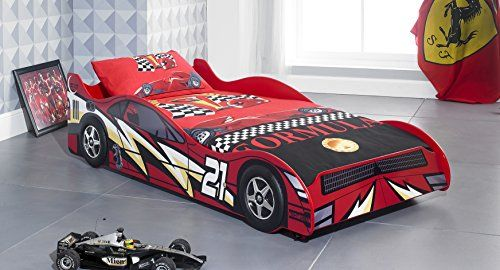 No 21 Red Childrens Car Beds Boys Racing Red Kids Car Bed Frame Majestic Furnishings http://www.amazon.co.uk/dp/B00FRJOU2I/ref=cm_sw_r_pi_dp_pIUNvb10ZHD0F