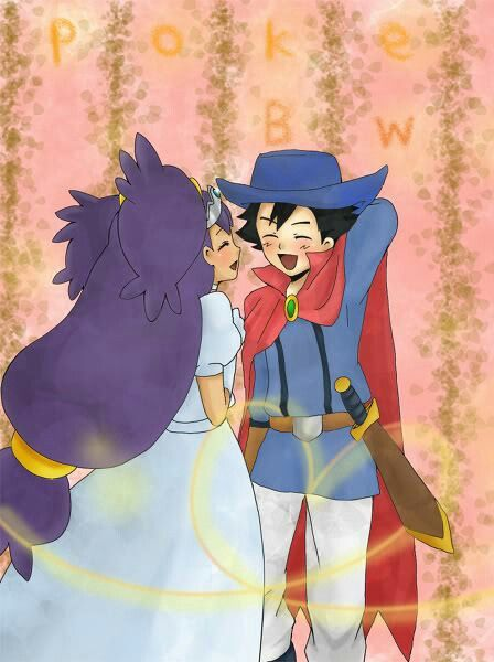 Looks like our knight and shining armor saved his damsel in distress! Negaishipping cutness!(>///<)