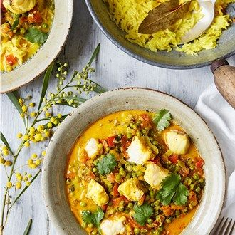 Monkfish curry | Recipe