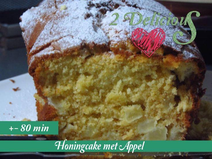 Honingcake Met Appel recept | Smulweb.nl