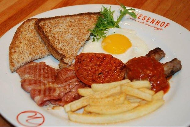 Indulge yourself in a mouthwatering breakfast! It is after all the most important meal of the day
