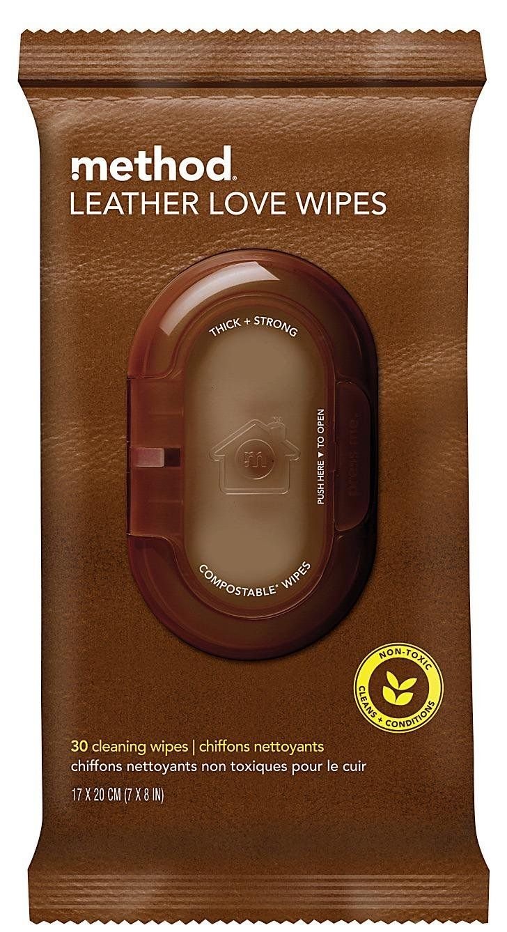 Method Leather Love Wipes, Leather - Best Price - cleans purses