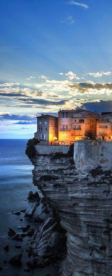 Bonifacio, Corsica, France. Repinned by neafamily.com.