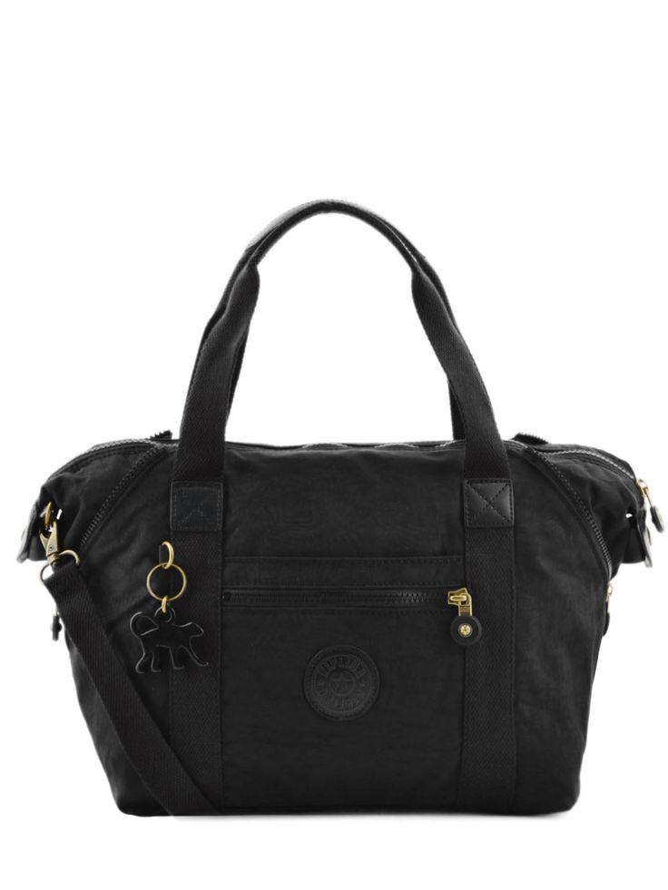 Sac shopping basic   Kipling Black leaf 110-00012645