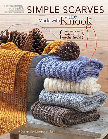 Leisure Arts - Simple Scarves Made with the Knook eBook, $4.98 (http://www.leisurearts.com/products/simple-scarves-made-with-the-knook-digital-download.html)