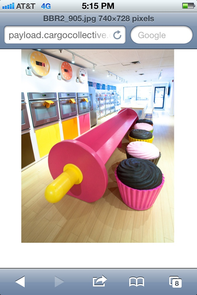 Cupcake chairs!!