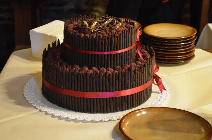 čokoládový svatební dort - Hledat Googlem