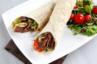 Wrap ou sandwich à la viande à fondue #recettesduqc #sandwich #lunch