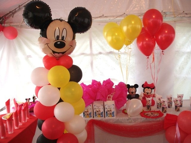 72 best images about globos on pinterest mesas arches for Decoracion simple con globos