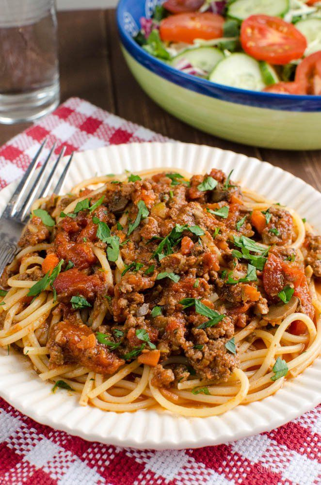 Gotta love cooking up a big batch of Syn Free Best Ever Bolognese Meat Sauce, great for freezing and this Instant Pot version is delicious!