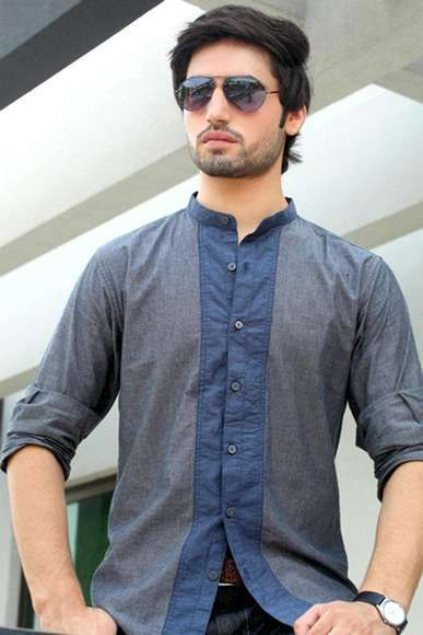 Charcoal Men Winter Shirts Collection 2013-2014 (3) | X Pakistani Fashion Clothes Dresses Collection
