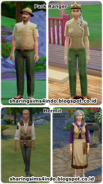 NPC in Granite Falls #sims4 #world