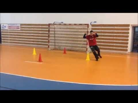 Handball Goalkeeper pre-season training (+ GoPro chest perspective) - YouTube