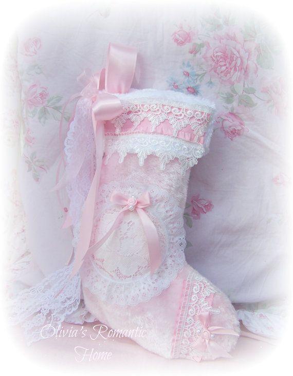 Beautiful Shabby stocking