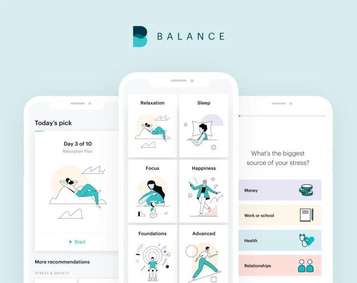 Mental Fitness Startup Elevate Labs Meditation Apps App Design Mobile App Design