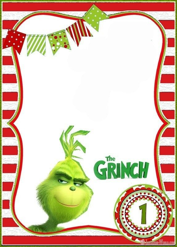The Grinch 2018 Invitation Cards Invitation World Christmas Party Invitation Template Christmas Birthday Invitations Grinch Party