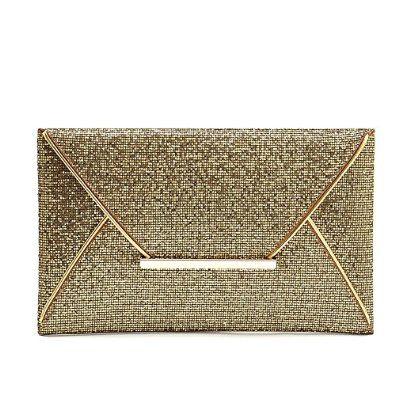 Catkit Charm Womens Sequins Envelope Clutch Handbag Evening Cocktail Bag