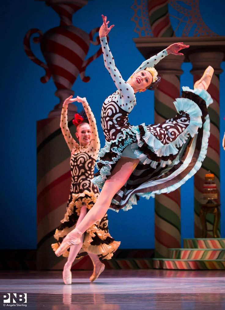 """Elle Macy, """"The Nutcracker choreography by George Balanchine, Pacific Northwest Ballet - Photographer Angela Sterling"""