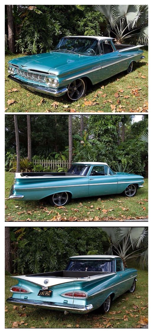 1959 Chevy El Camino..Re-pin brought to you by agents of #Carinsurance at #HouseofInsurance in Eugene, Oregon