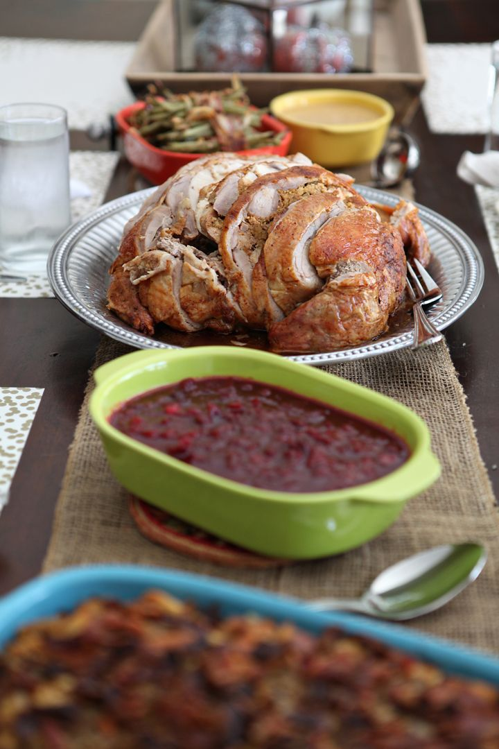 How To Make A Roasted Turducken