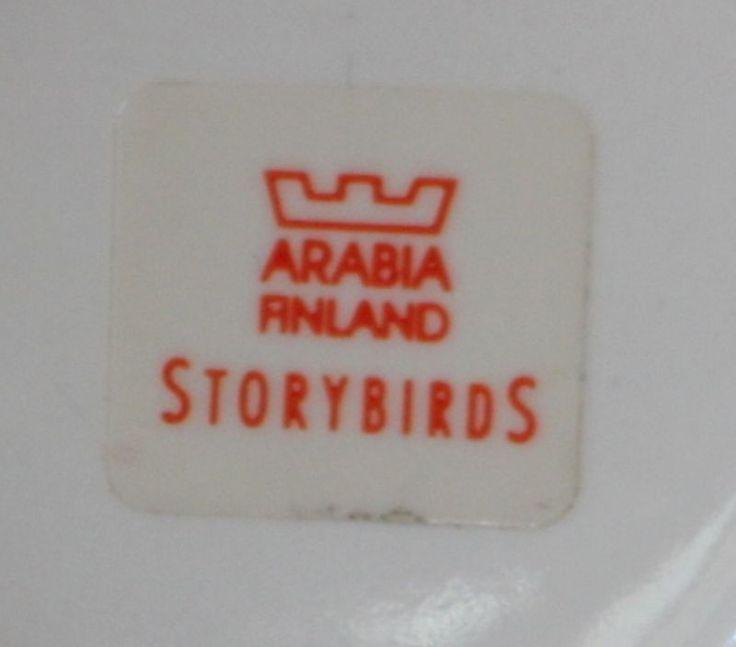 Arabia Storybirds, OLLIE pitcher by Kati Tuominen-Niittylä