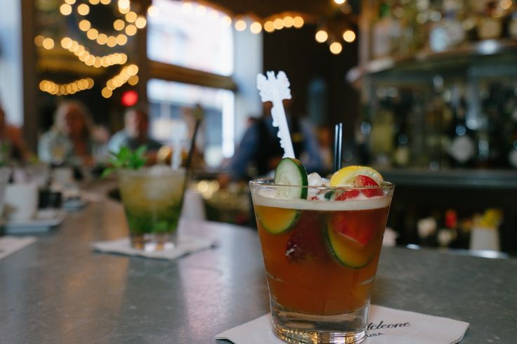 Pimm's Cups are best enjoyed while revolving around The Carousel Bar & Lounge.