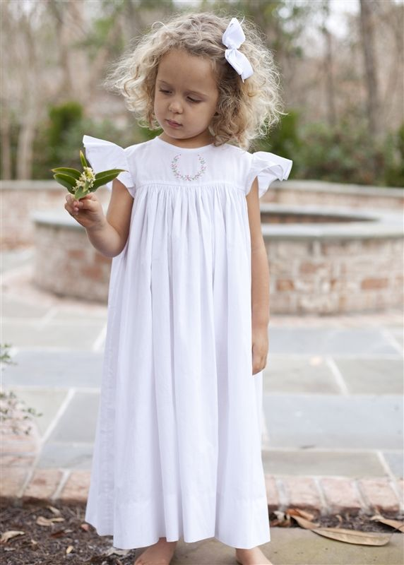 Smocked dresses for Juniper and Adler-- buy from Lila & G's Heirloom Collection, clothing business started by Samford girls