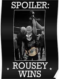 ronda rousey poster - Google Search