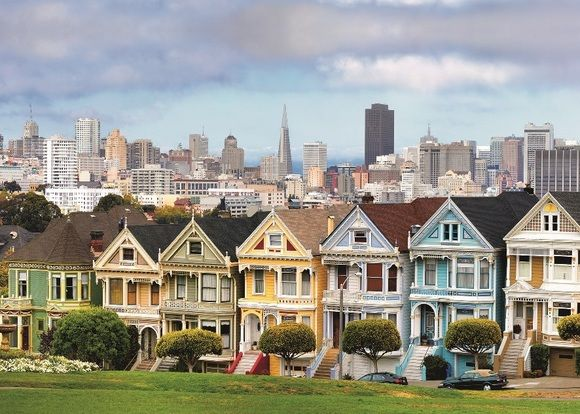 Ravensburger Ravensburger, Пазл Викторианские дома Сан-Франциско» 1000 шт