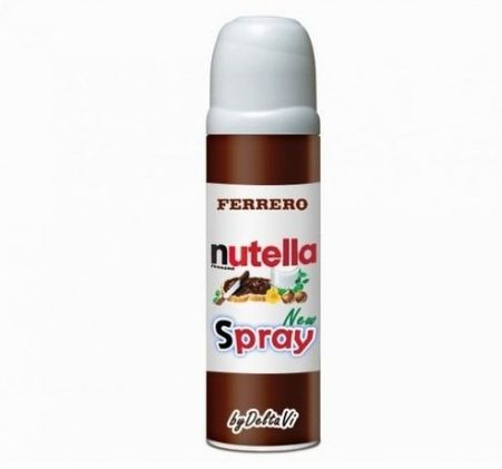 Nutella Spray - cool i think i just died and went to heaven inventions ❤❤❤❤❤❤❤❤❤❤❤❤❤❤❤❤✨✨✨✨✨✨✨✨✨✨✨✨✨✨✨✨