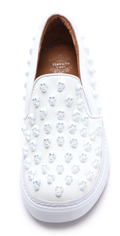Jeffrey Campbell Alva Skull Stud Sneakers | SHOPBOP