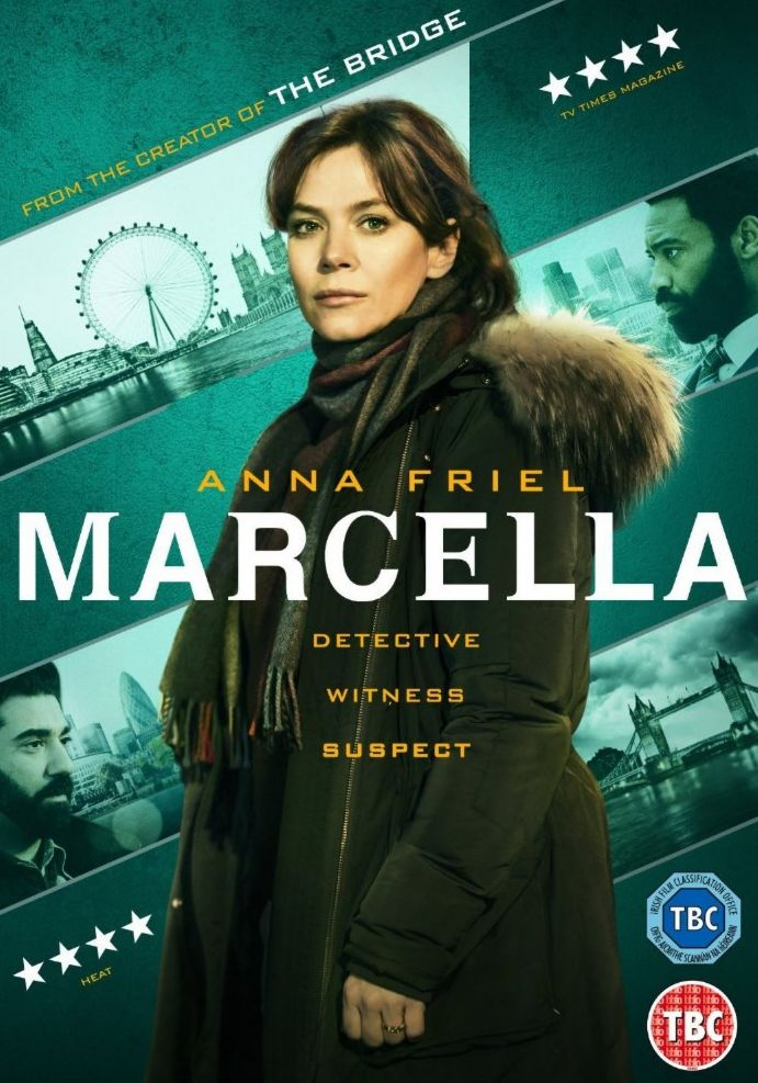 MARCELLA - Anna Friel, Marcella Backland left the Metropolitan Police for the sake of her family, only to have her husband leave her. She returns to her job on the murder squad, investigating a case that seems disturbingly familiar to her.