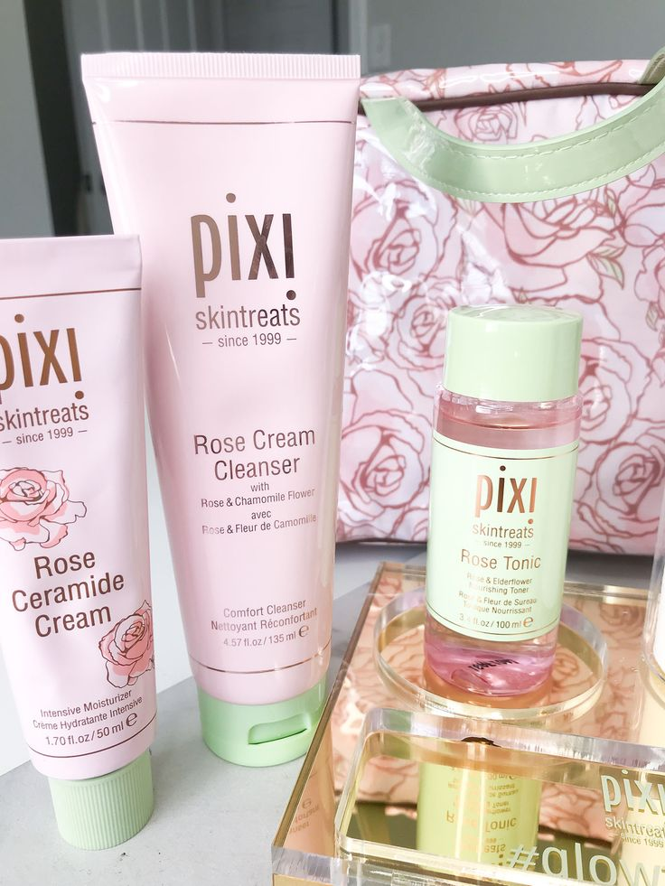 Sensitive and Dry Skinned? Pixi Rose Infused Skintreats Review