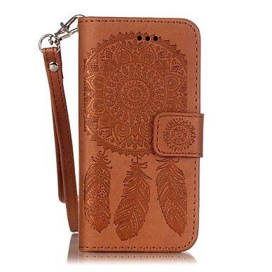 campanula kohokuvioitu nahka hihna matkapuhelin iphone SE / 5 / 5s – EUR € 6.85