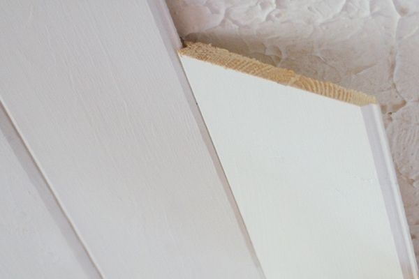 Popcorn Ceiling To Plank Ceiling | The Lettered Cottage