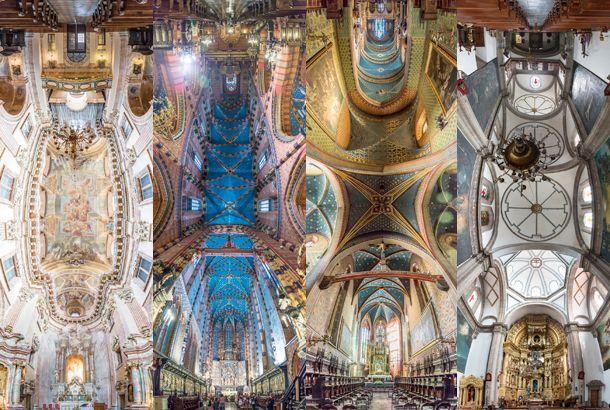 教会内部の全景を一枚にした神秘的な写真 | roomie(ルーミー)