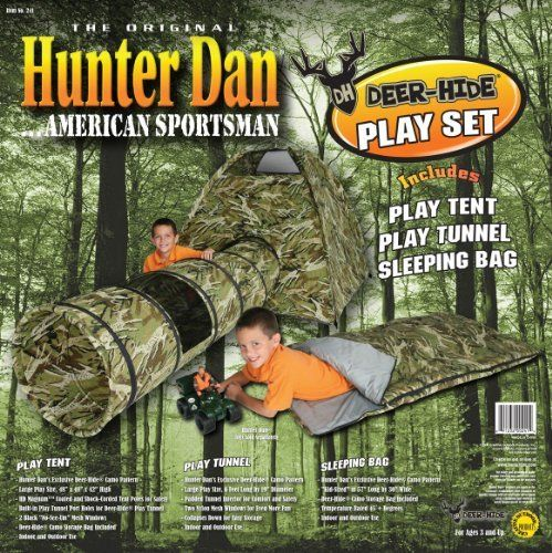 Hunter Dan Deer Hide Combo Play Set by Hunter Dan. $99.99. u0027Kid- & 18 best Toys u0026 Games - Tents u0026 Tunnels images on Pinterest | Tents ...